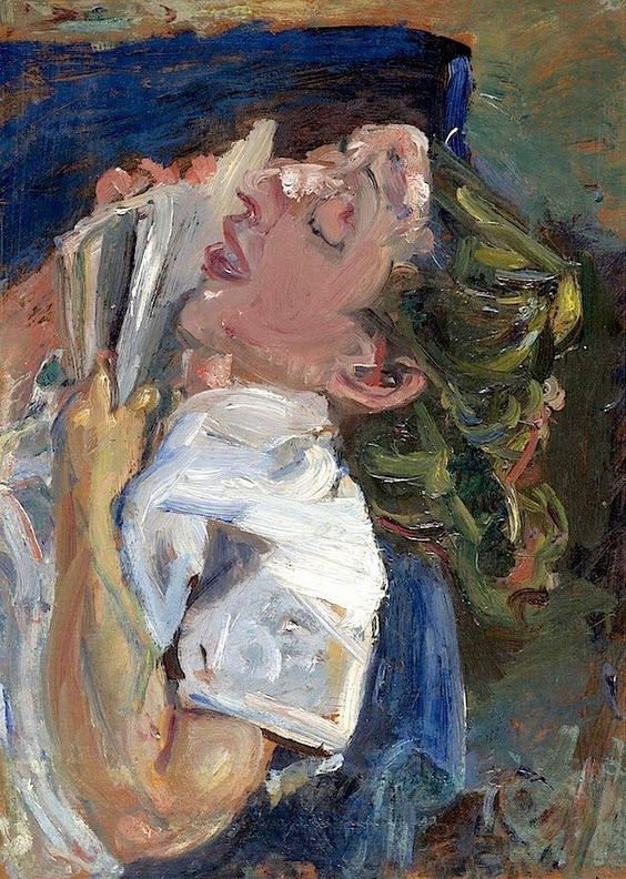 Soutine woman asleep over book 1937