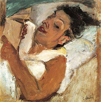 Soutine_Woman reading_1937