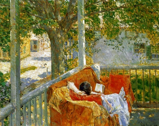 Hassam couch-on-the-porch-cos-cob